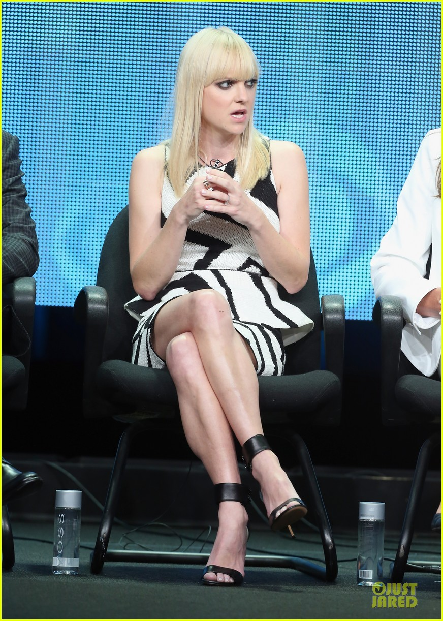 anna faris cbs summer tca party 08