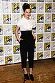 hailee steinfeld harrison ford enders game at comic con 16
