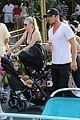 cam gigandet debuts baby rekker on family disney trip 04