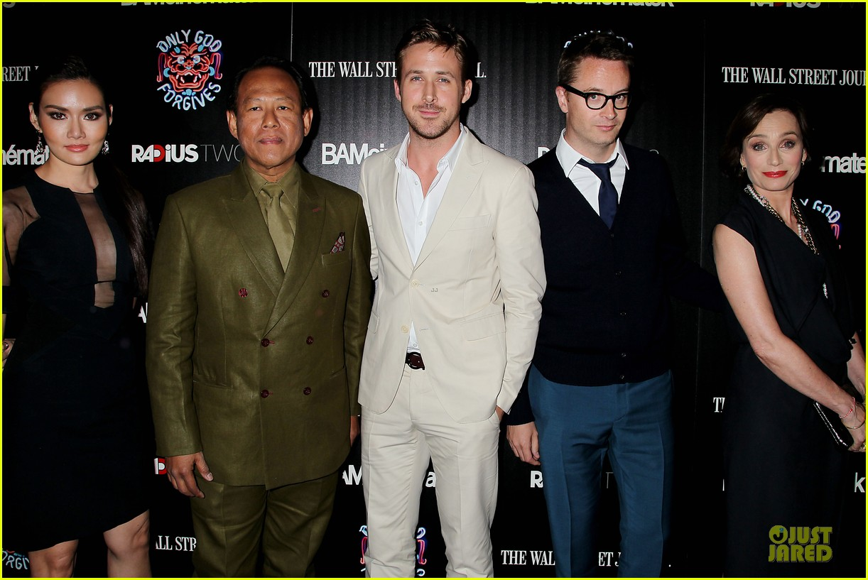 ryan gosling only god forgives nyc screening 022910571