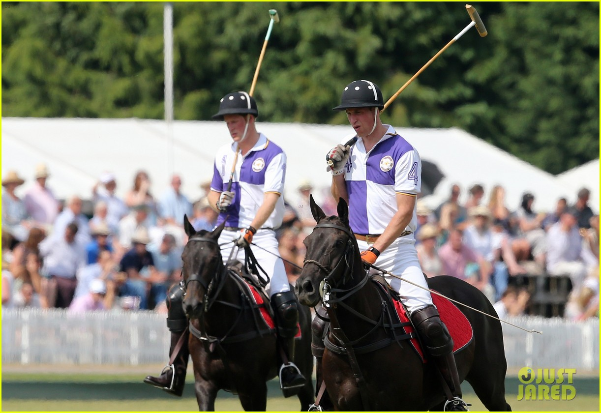prince william harry jerudong trophy charity polo match 11