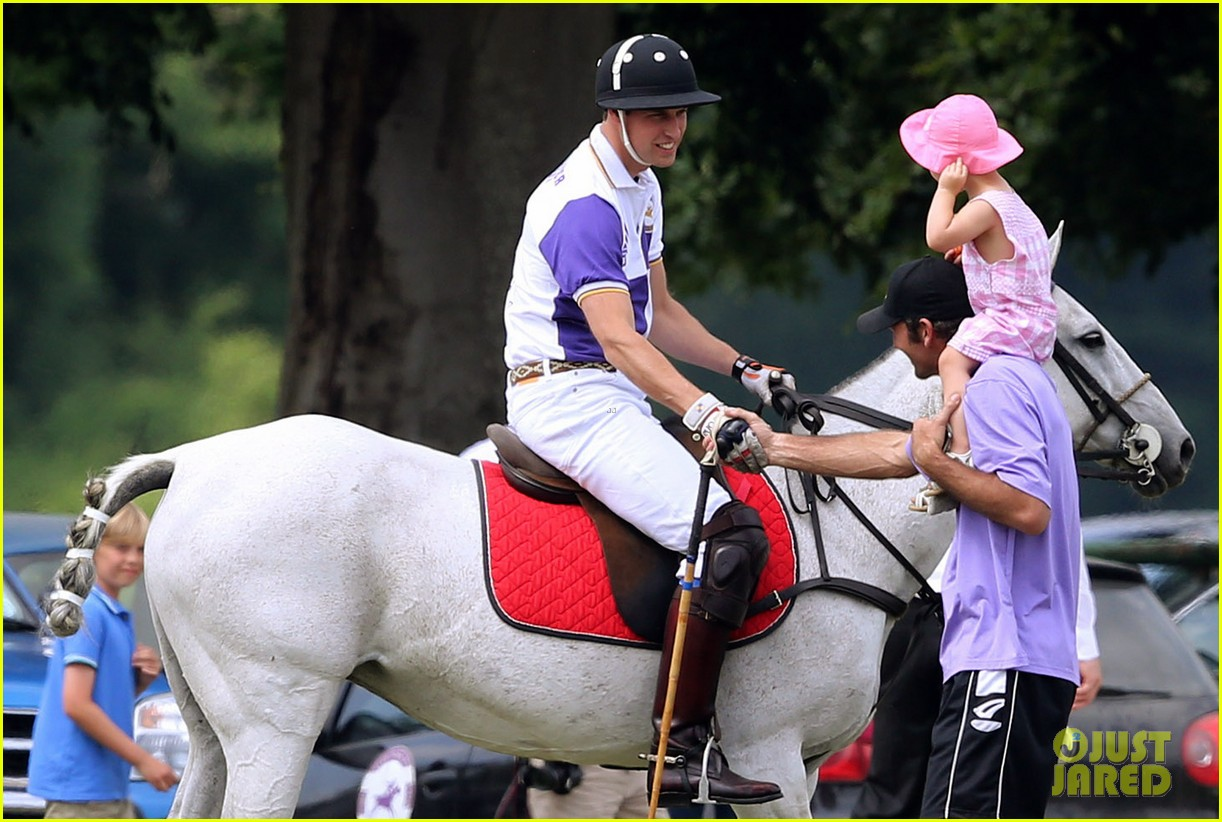 prince william harry jerudong trophy charity polo match 13