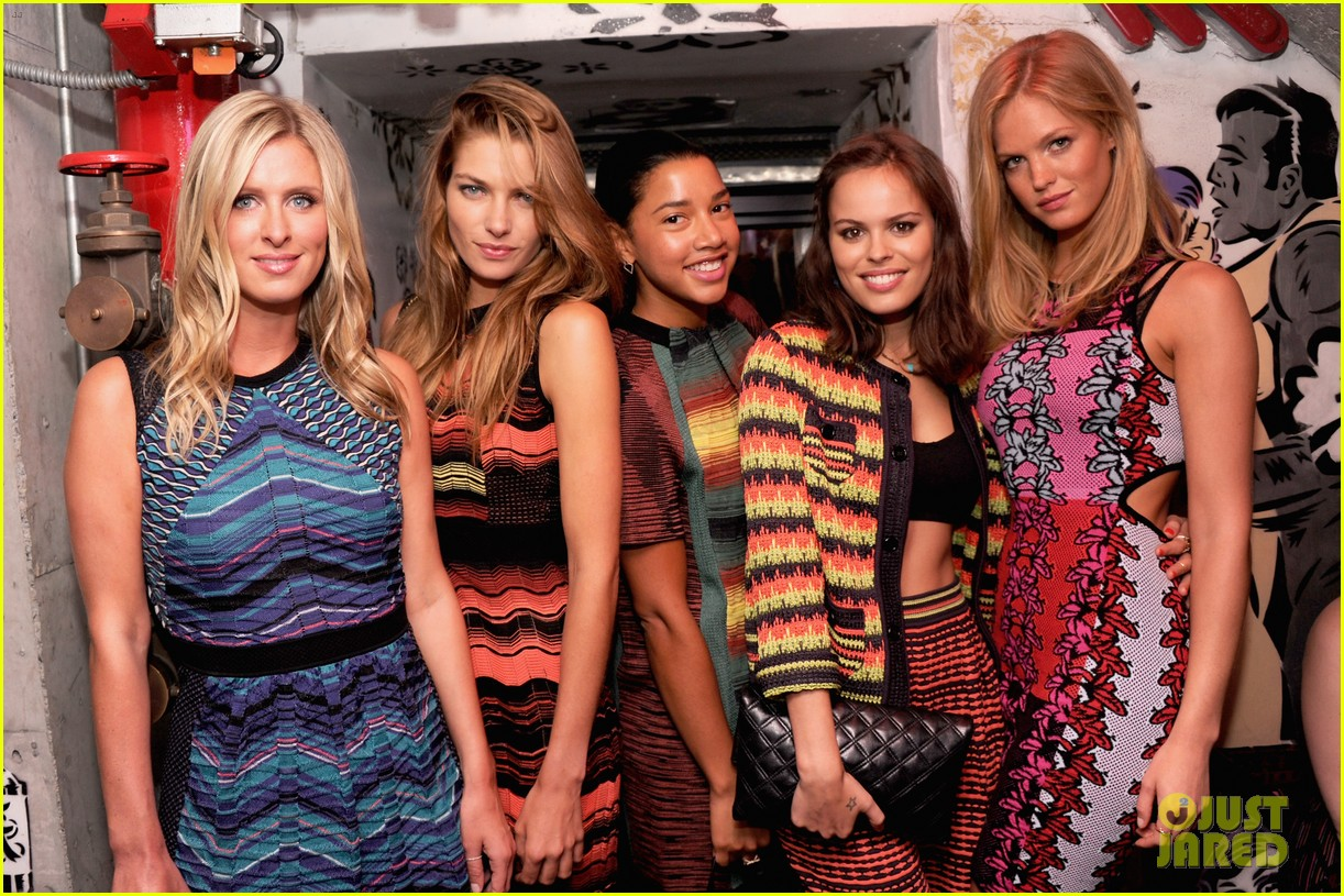 erin heatherton chloe bridges m missoni is for music event 08
