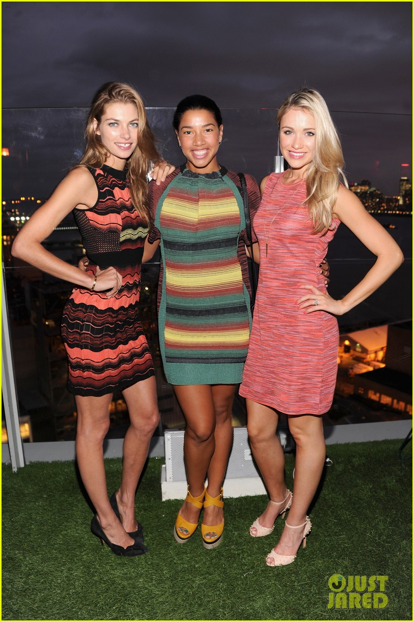 erin heatherton chloe bridges m missoni is for music event 11