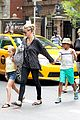 heidi klum martin kirsten spider man on broadway with the kids 36