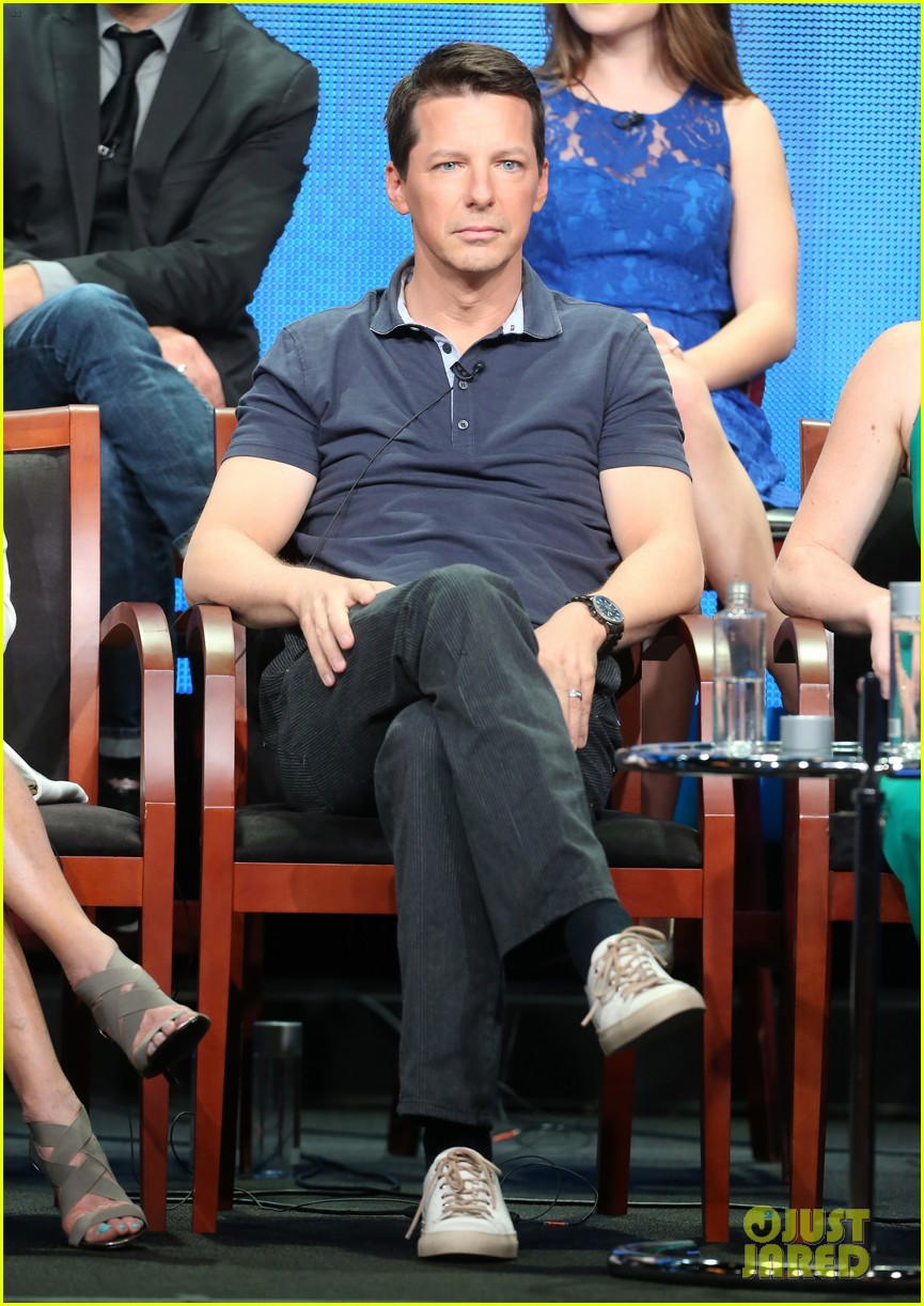 megan hilty sean hayes nbc summer tca panel 26
