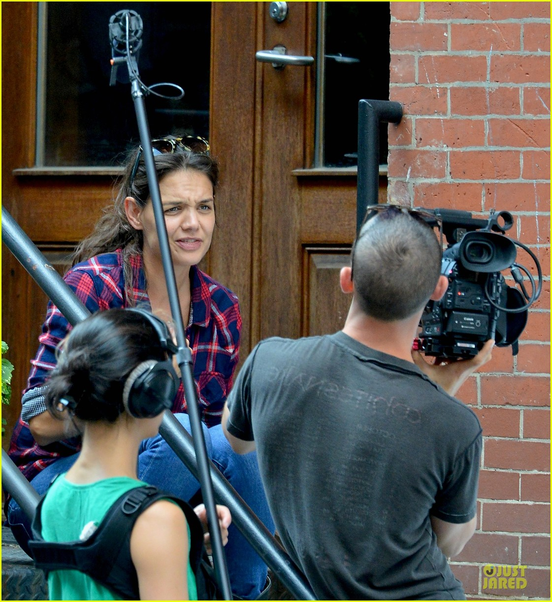 katie holmes short video shoot in the big apple 082919659