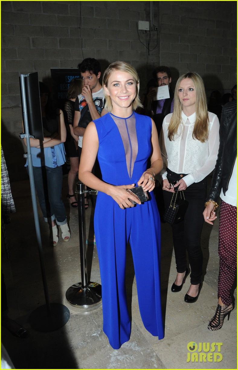 julianne hough georges hobeika fashion show exclusive 012901988