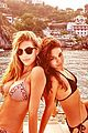 vanessa hudgens bikini bonding with camila morrone 05
