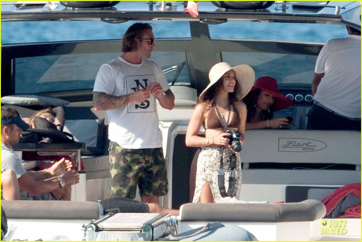 vanessa hudgens bikini bonding with camila morrone 03