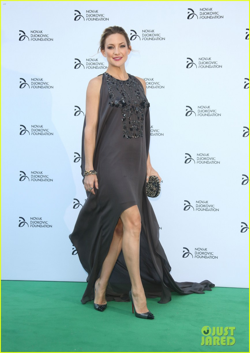 kate hudson novak djokovic foundation london gala 16