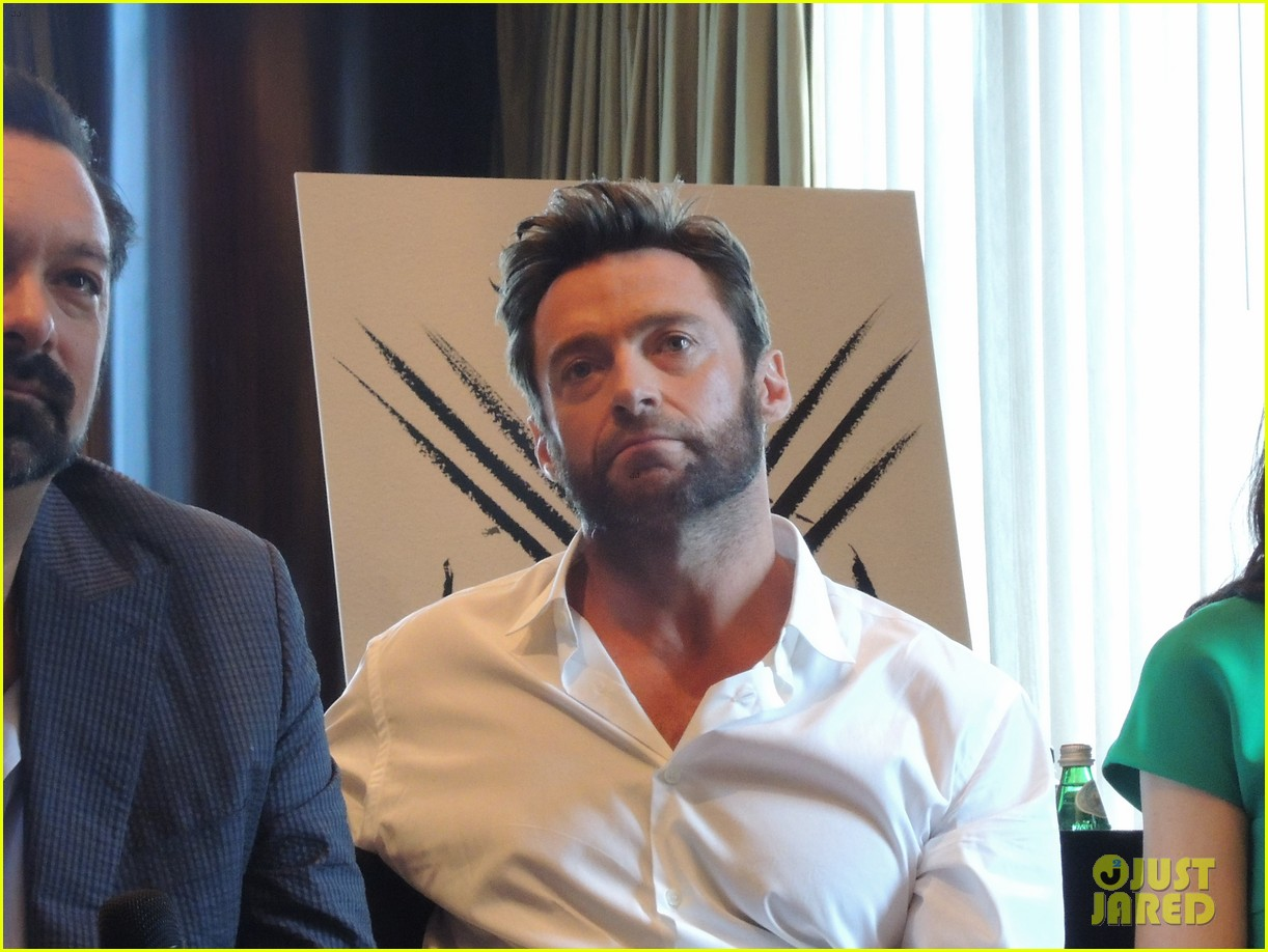hugh jackman the wolverine press conference in nyc 02