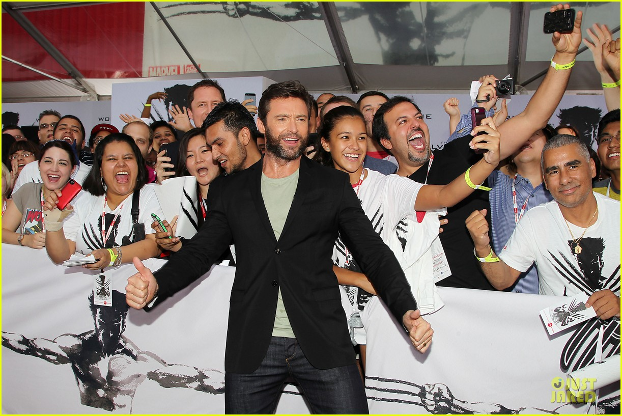 hugh jackman wolverine fan screening 12