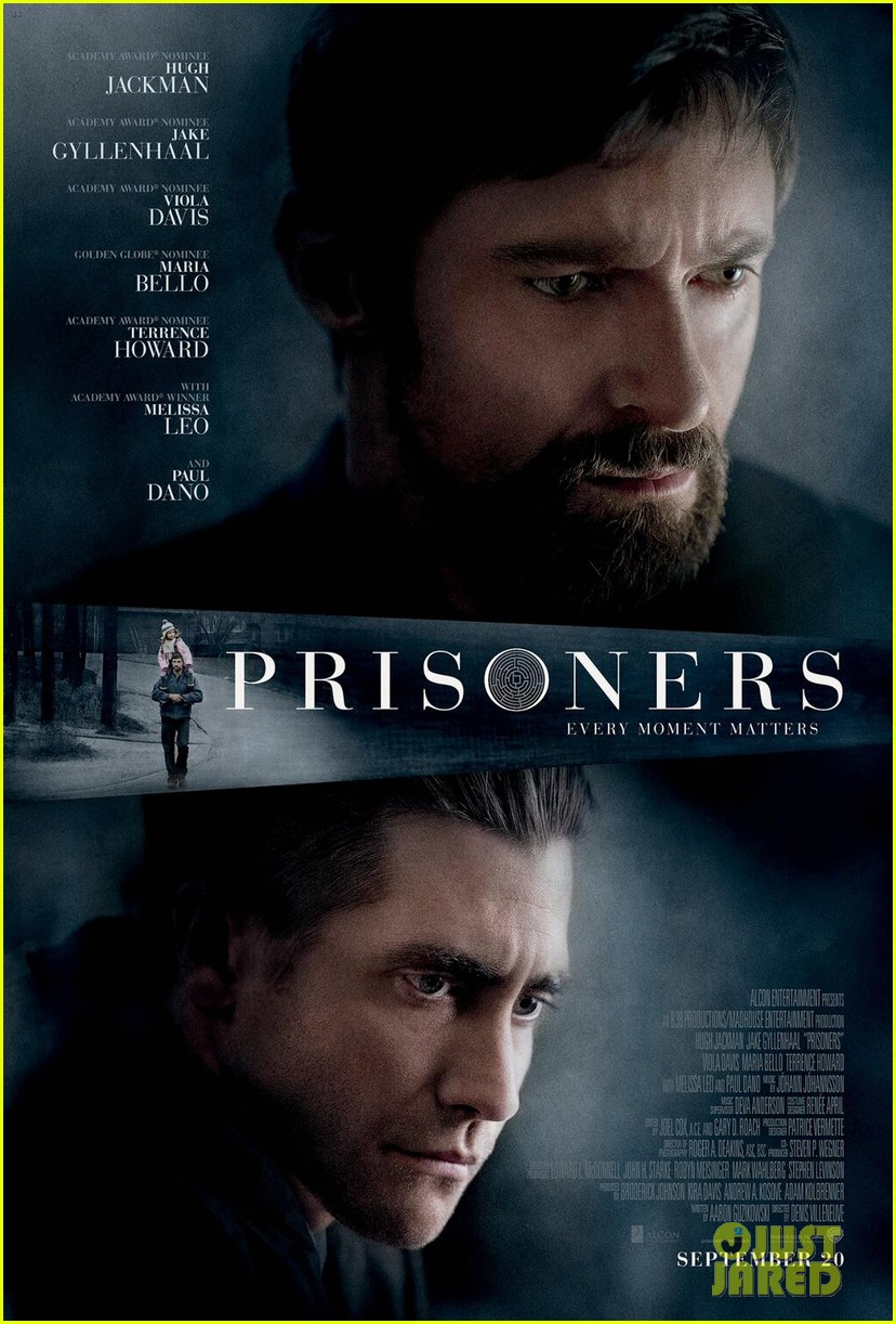 hugh jackman jake gyllenhaal prisoners poster first look 03