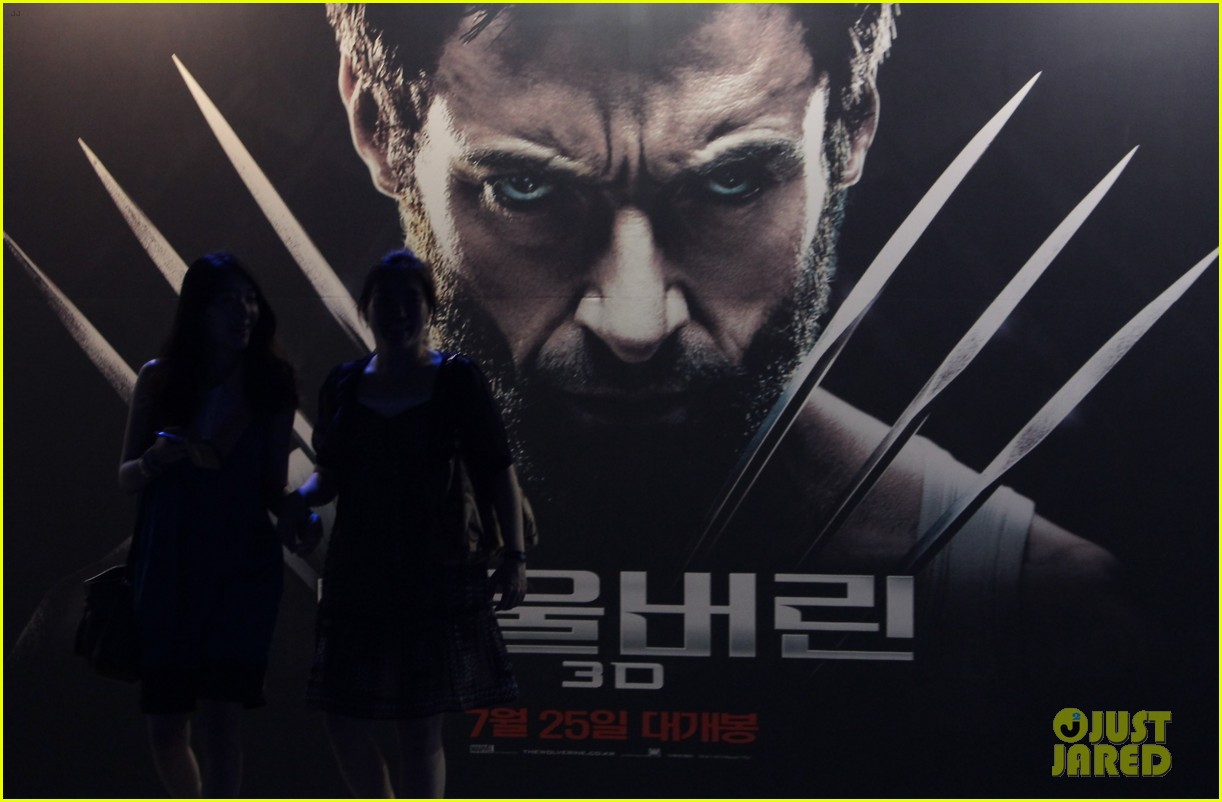 hugh jackman the wolverine south korea premiere 07