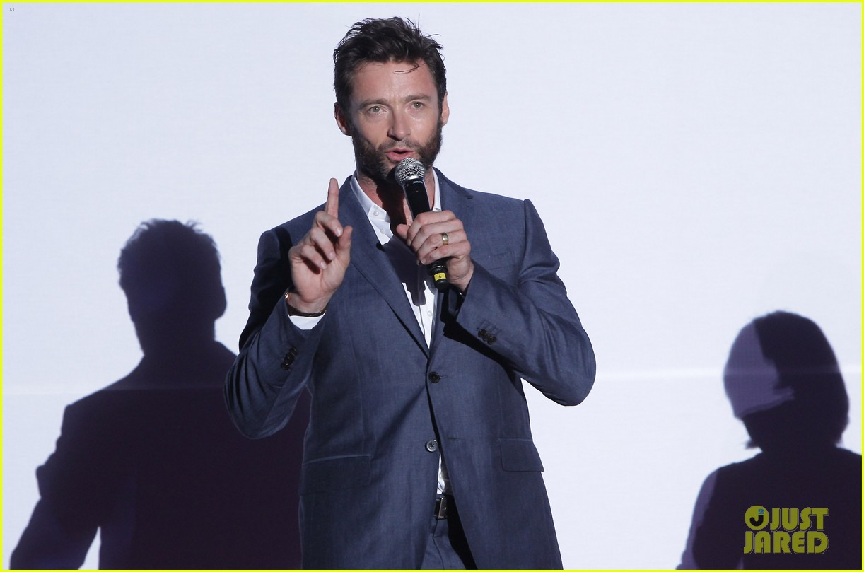 hugh jackman the wolverine south korea premiere 15