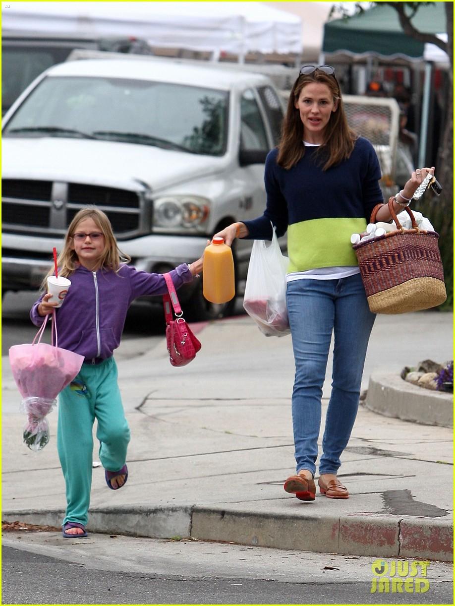 jennifer garner mother daughter morning with violet 072918749