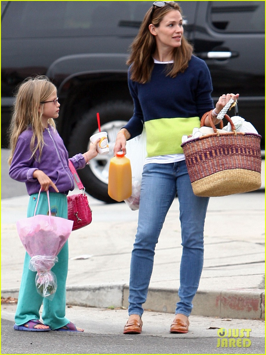 jennifer garner mother daughter morning with violet 102918752