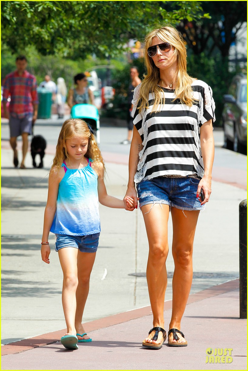 heidi klum matilda broadway play is fantastic 15