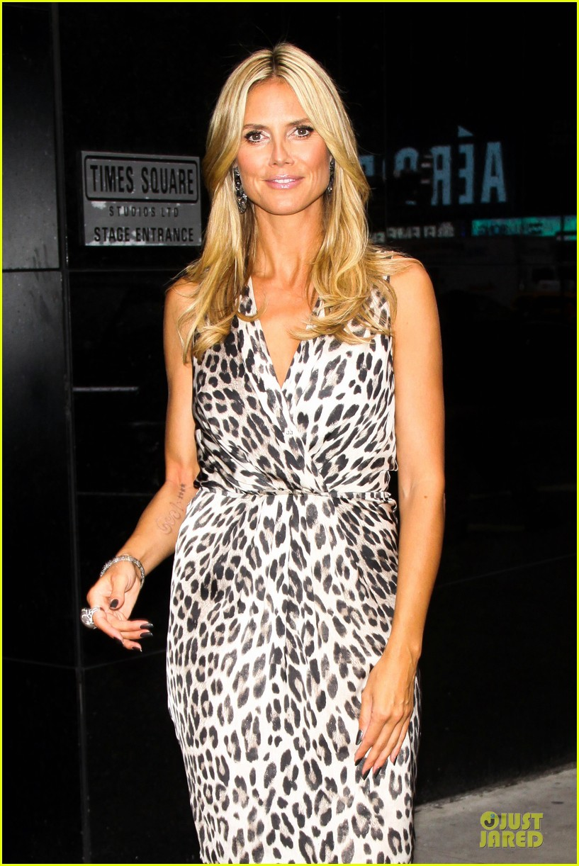 heidi klum trend in for project runway 28