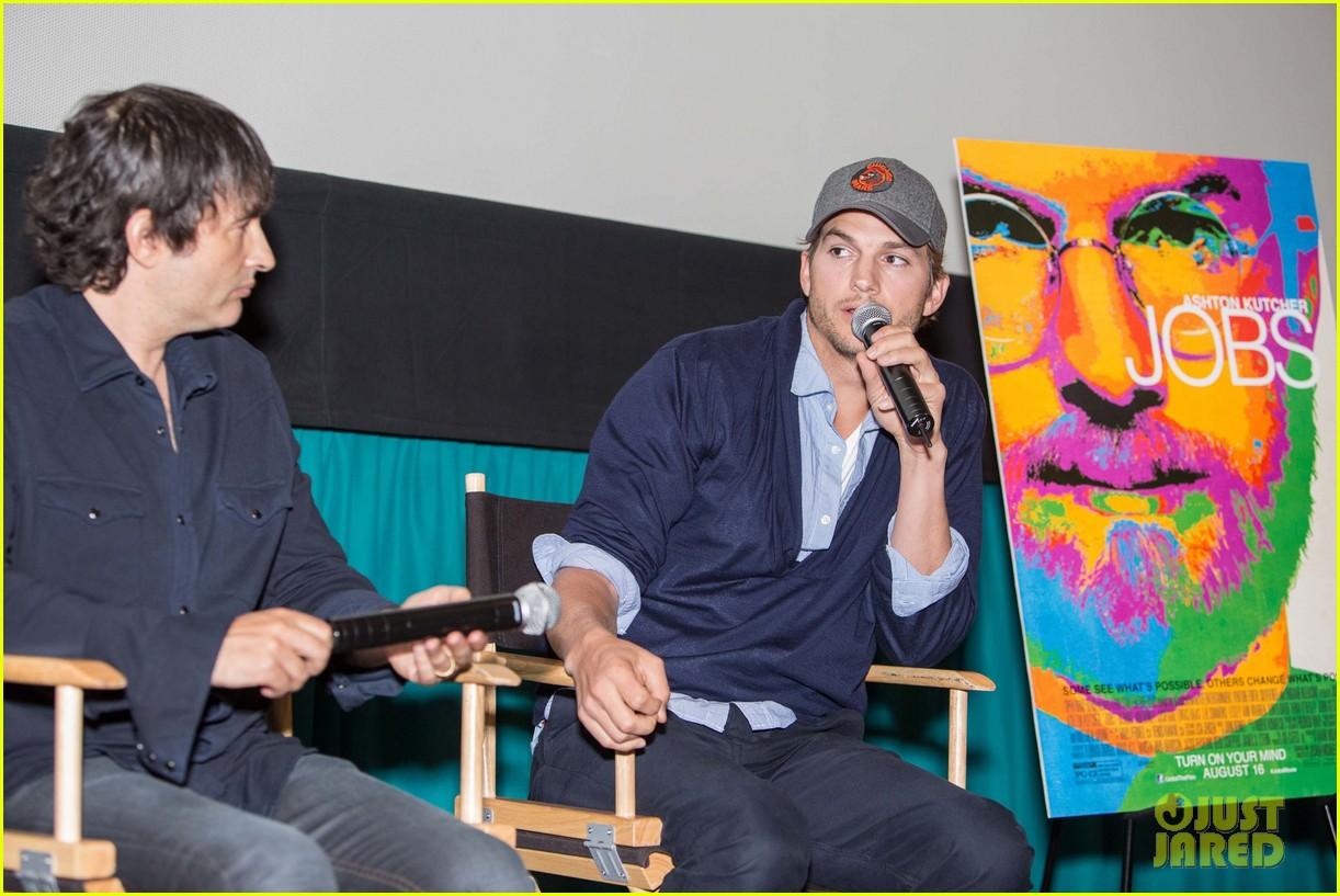 ashton kutcher jobs qa with director joshua michael stern 032917277