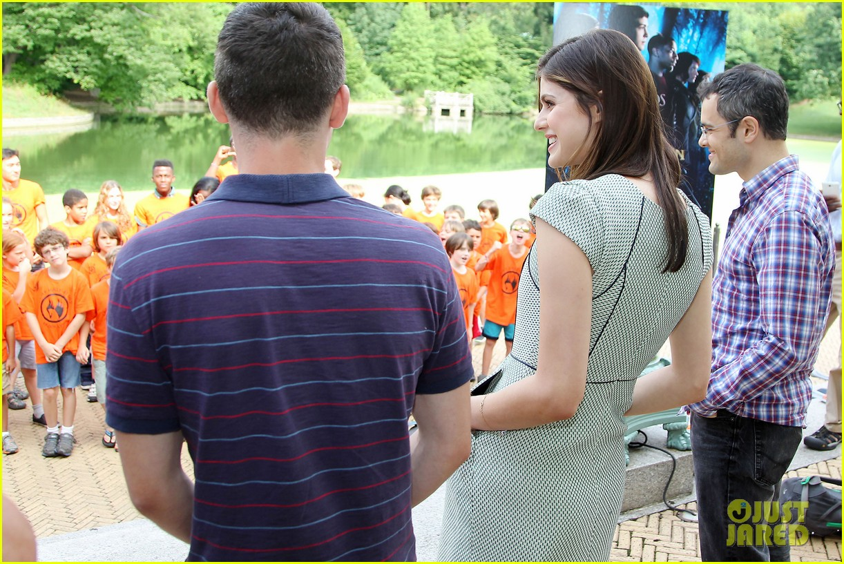 logan lerman alexandra daddario percy jackson press day 232917584