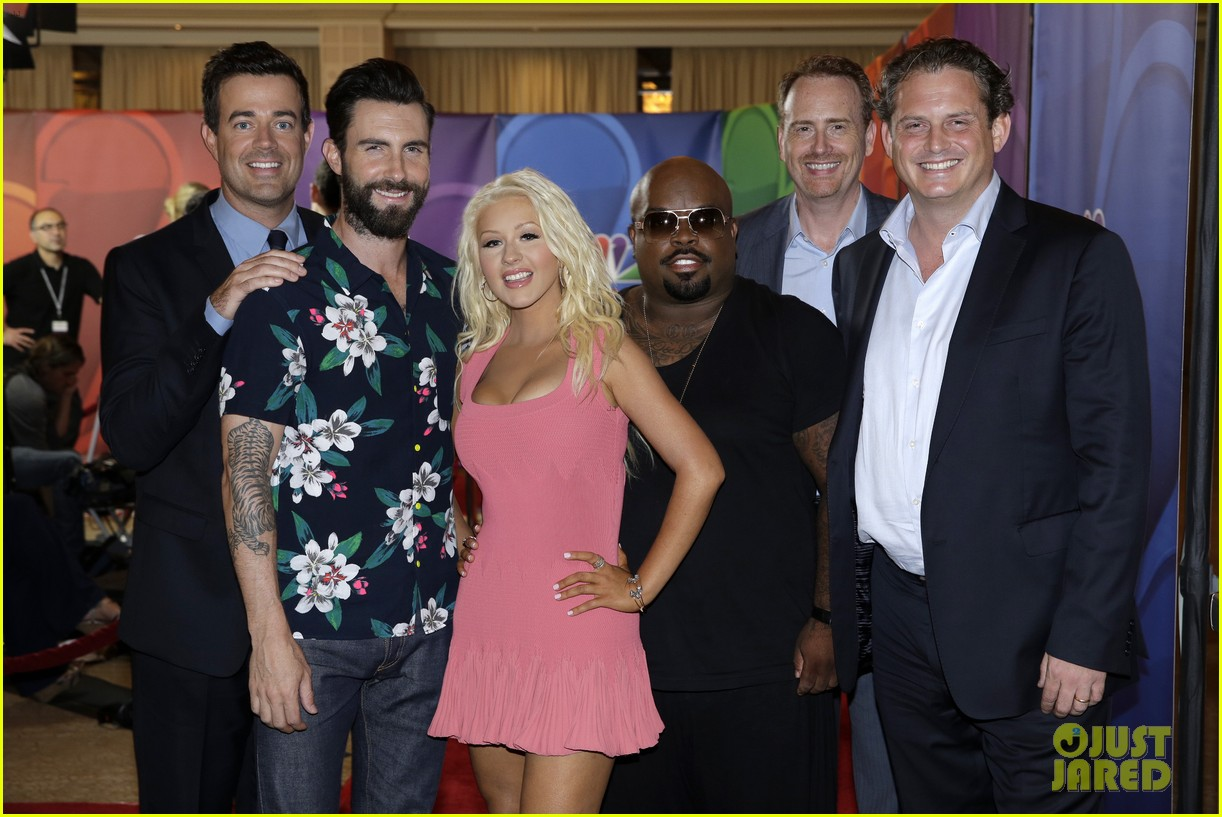 adam levine cee lo green nbc summer tca tour event 022918255