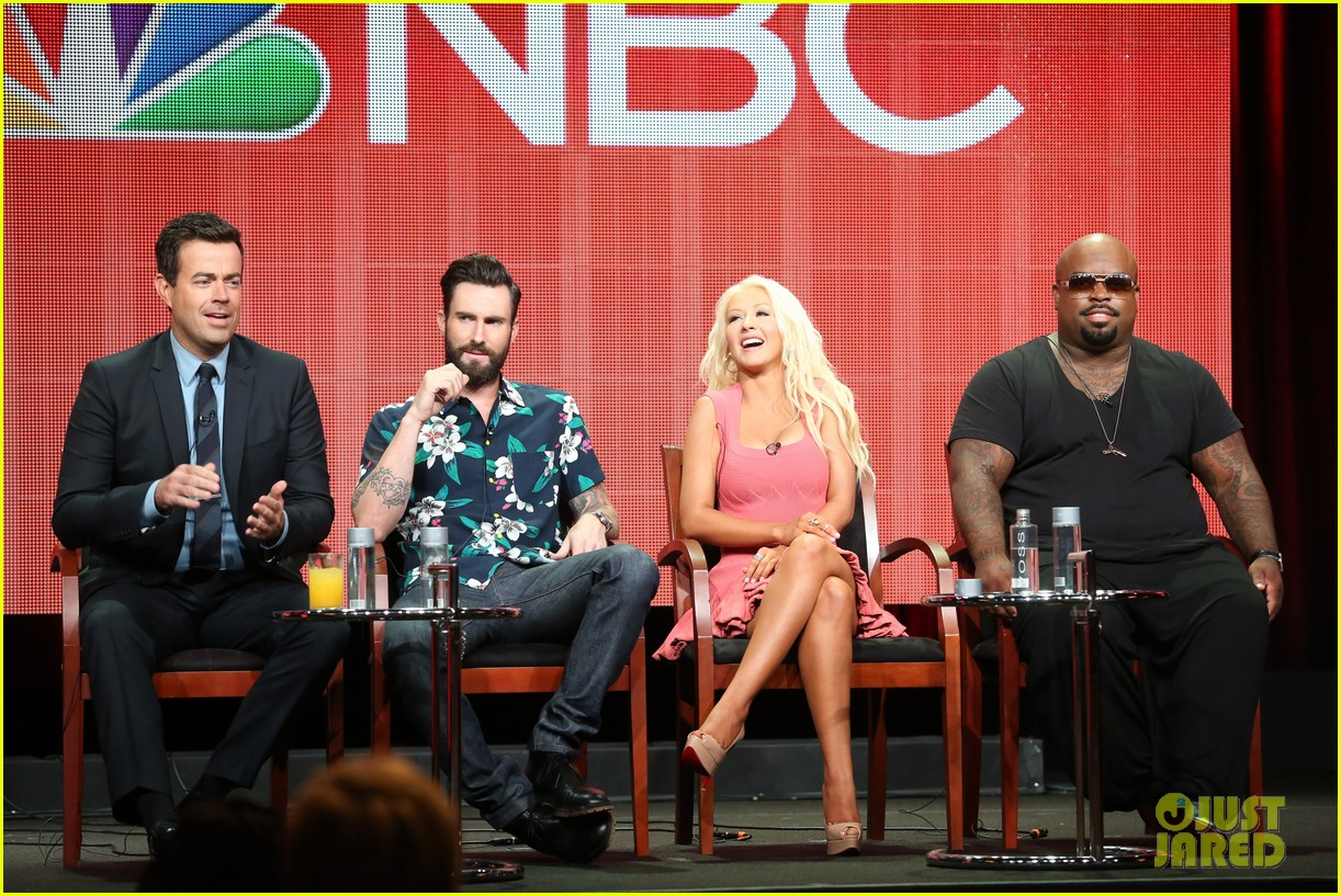 adam levine cee lo green nbc summer tca tour event 052918258