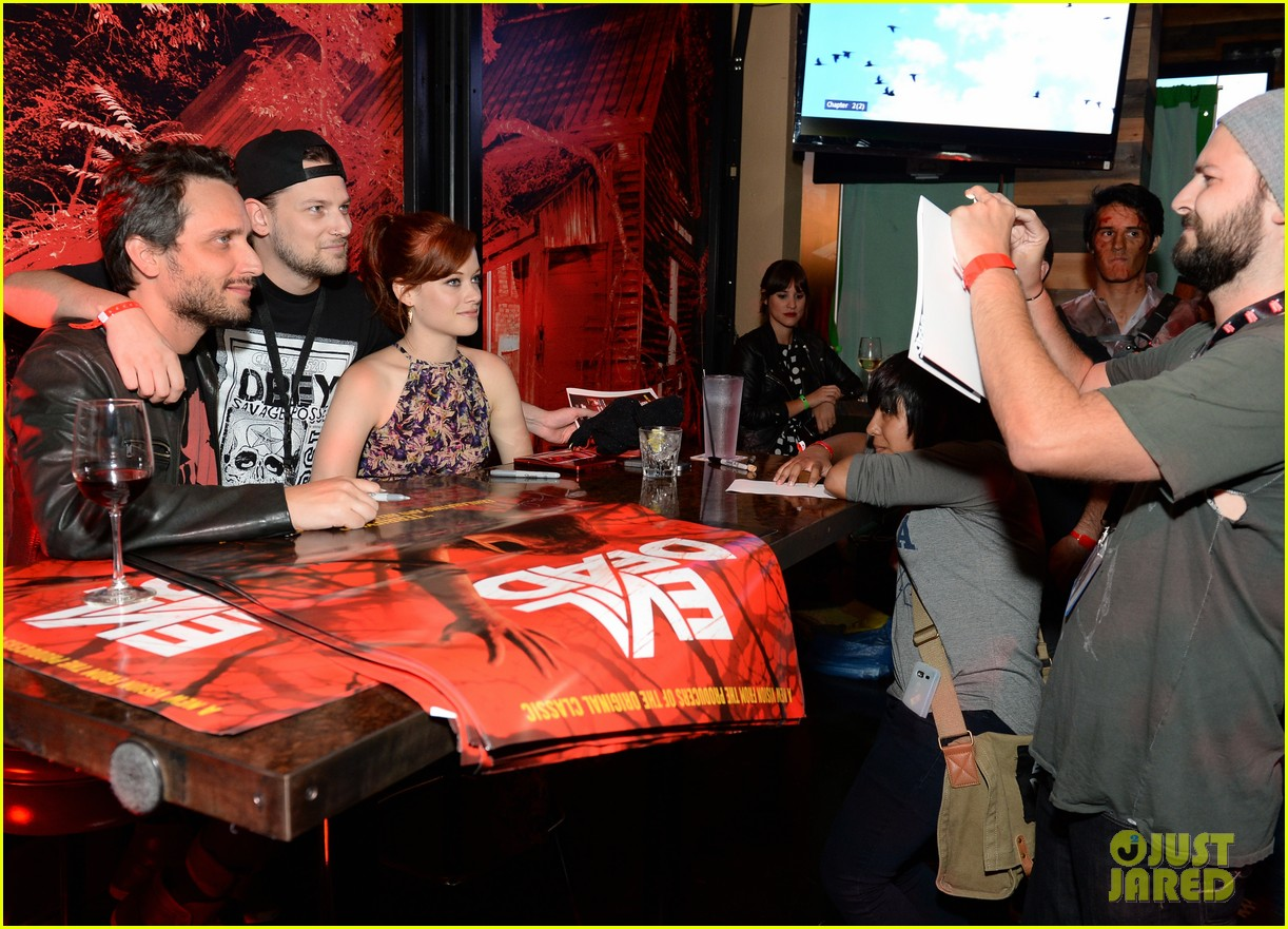 jane levy evil dead blu ray fan party at comic con 2013 10