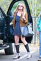 lindsay lohan released from rehab smiles while leaving 01
