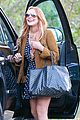 lindsay lohan released from rehab smiles while leaving 02