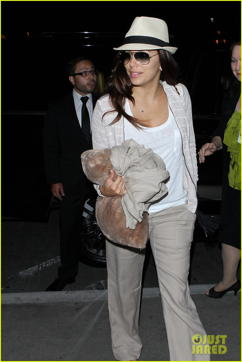 eva longoria lands in los angeles after paris trip 072908875