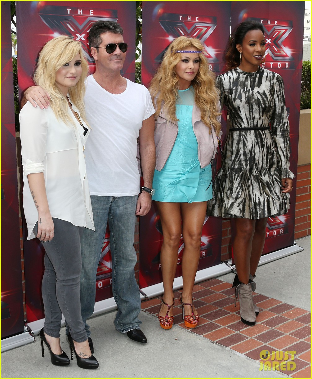 demi lovato kelly rowland x factor la auditions day two 03