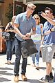 alexander ludwig visits extra at the grove 20