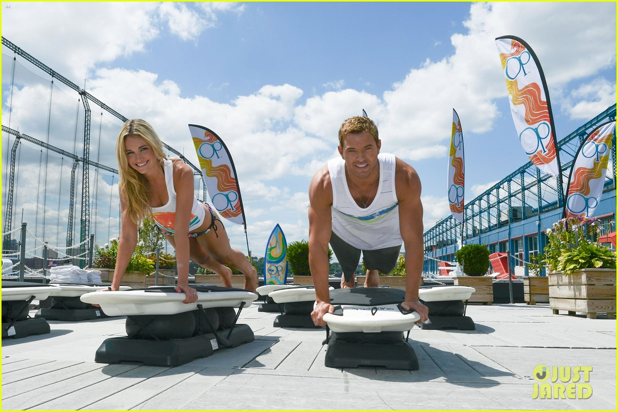 kellan lutz katrina bowden ops surf for life event hosts 022920233