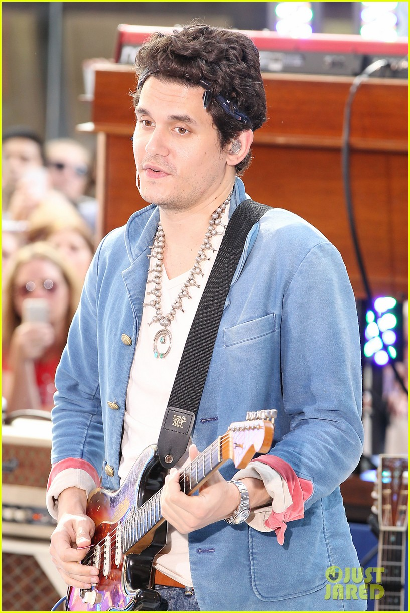 john mayer today show performance 082904395