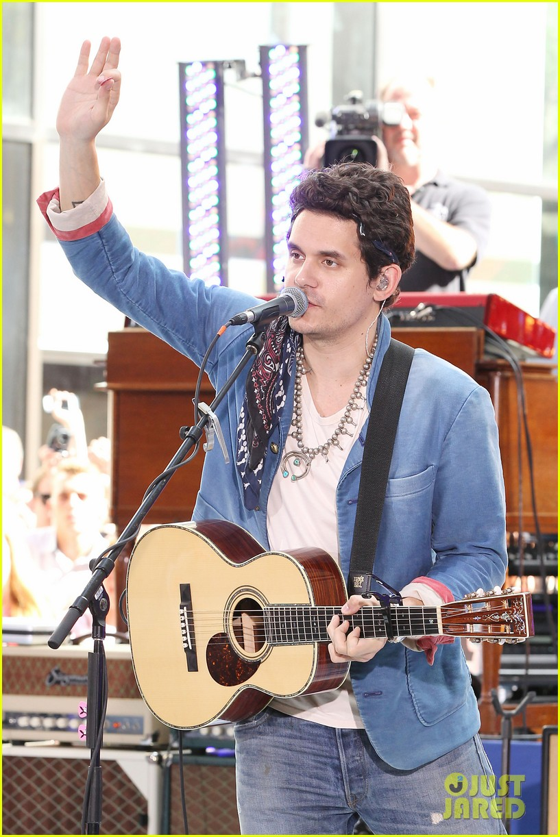 john mayer today show performance 312904418