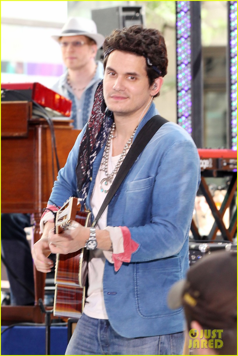 john mayer today show performance 35