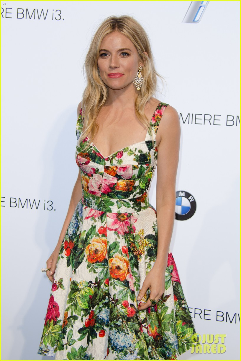 sienna miller james franco bmwi3 global reveal party 10