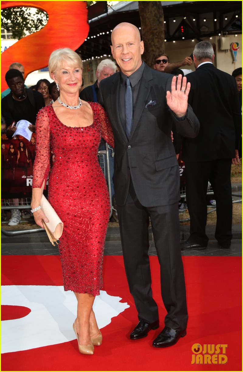helen mirren bruce willis red 2 london premiere 18