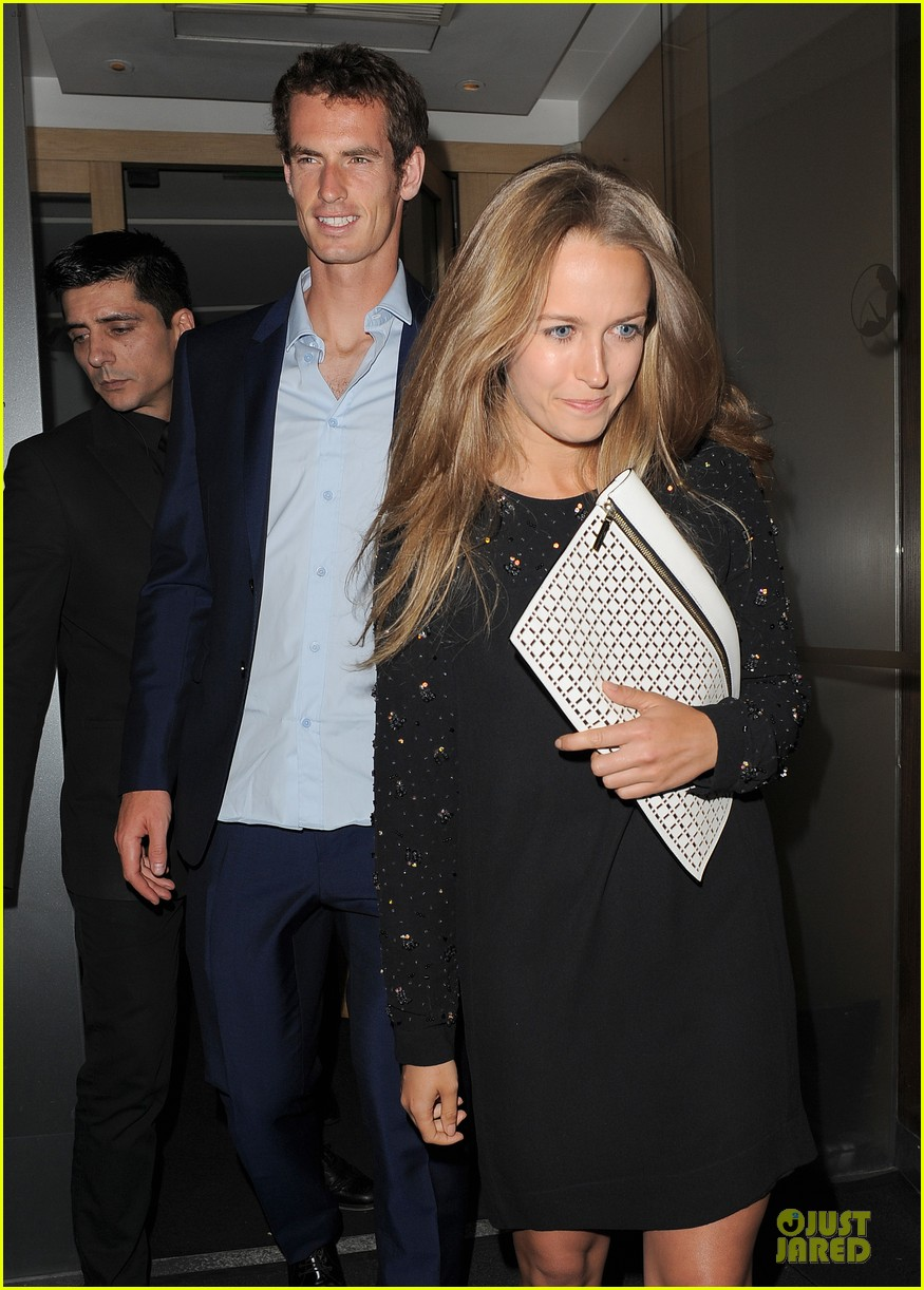 andy murray kim sears nobu dinner date after wimbledon photo call 022906343