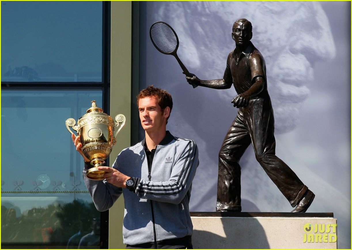 andy murray wimbledon winners photo call 082906129