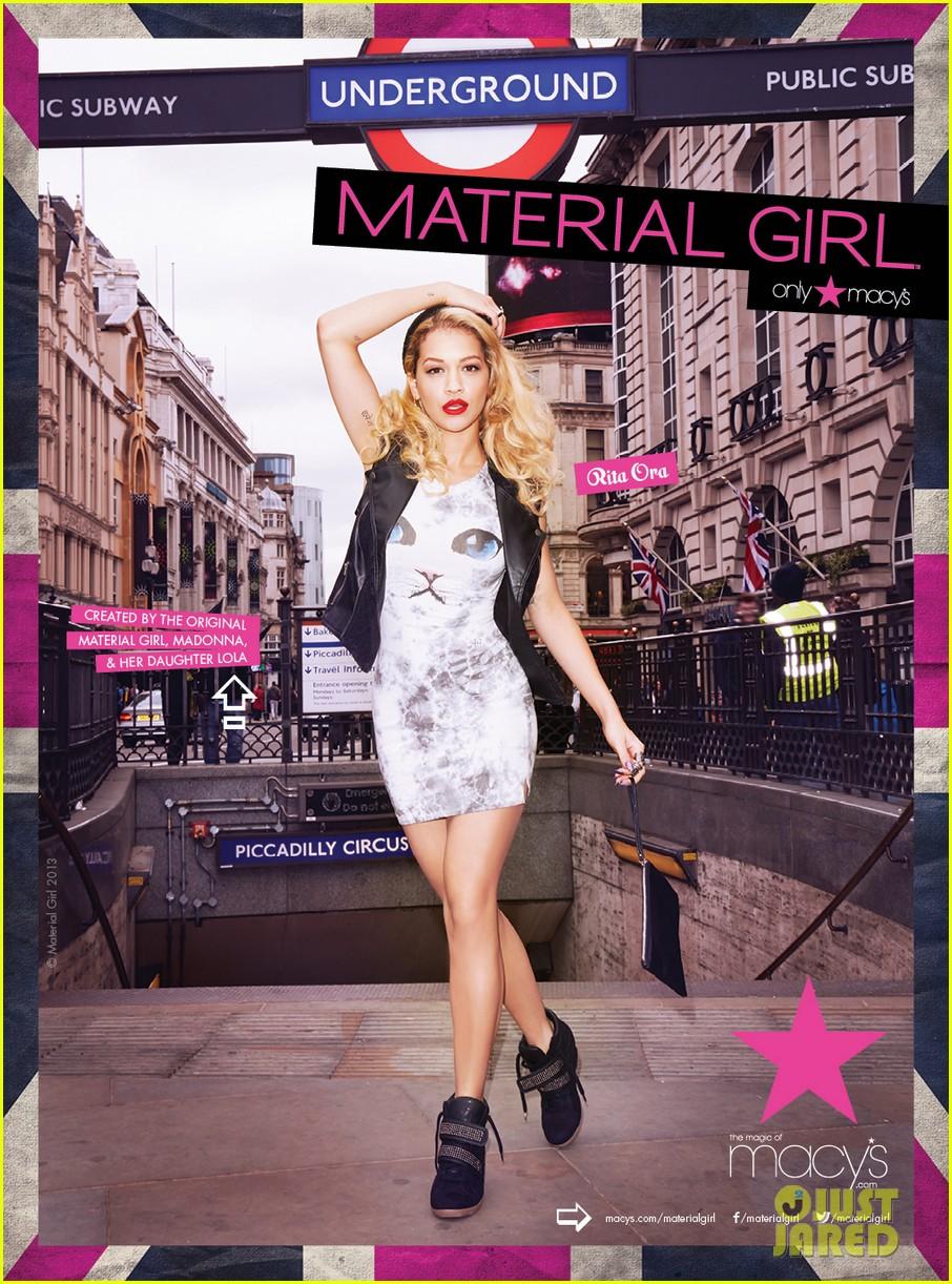 rita ora material girl campaign pictures 01