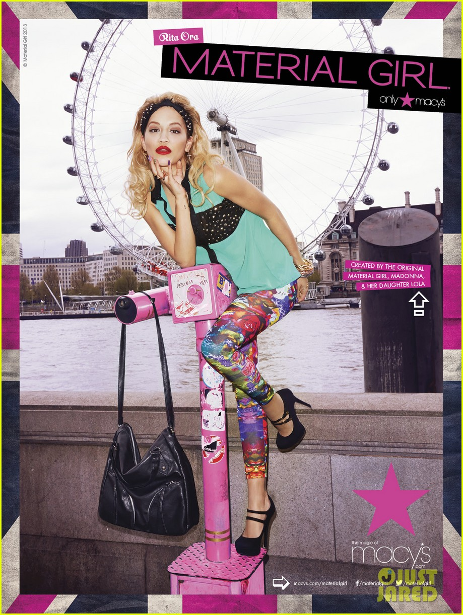 rita ora material girl campaign pictures 02