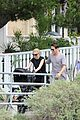anna paquin stephen moyer venice stroll with the twins 05