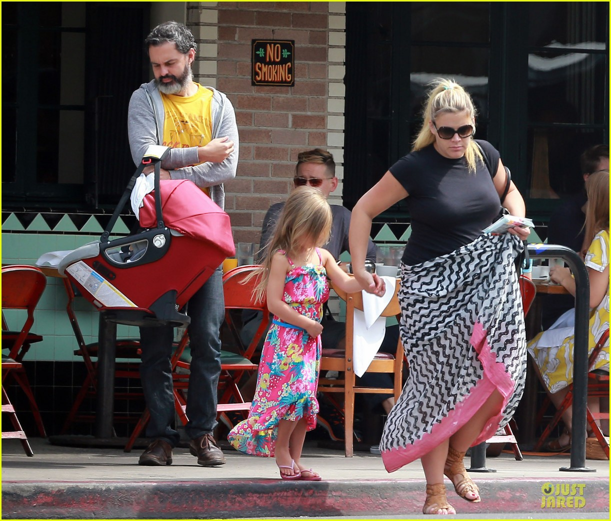 busy philipps post baby body at little doms 16