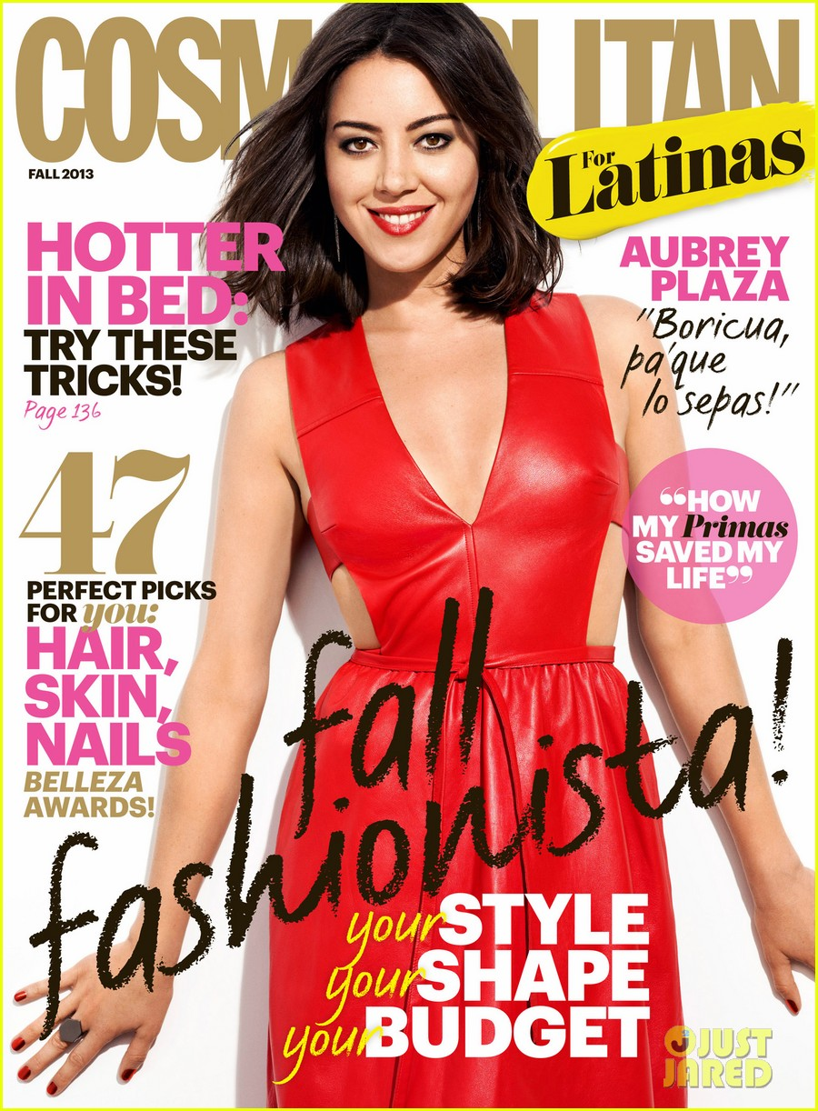 aubrey plaza covers cosmopolitan for latinas fall 2013 022920071