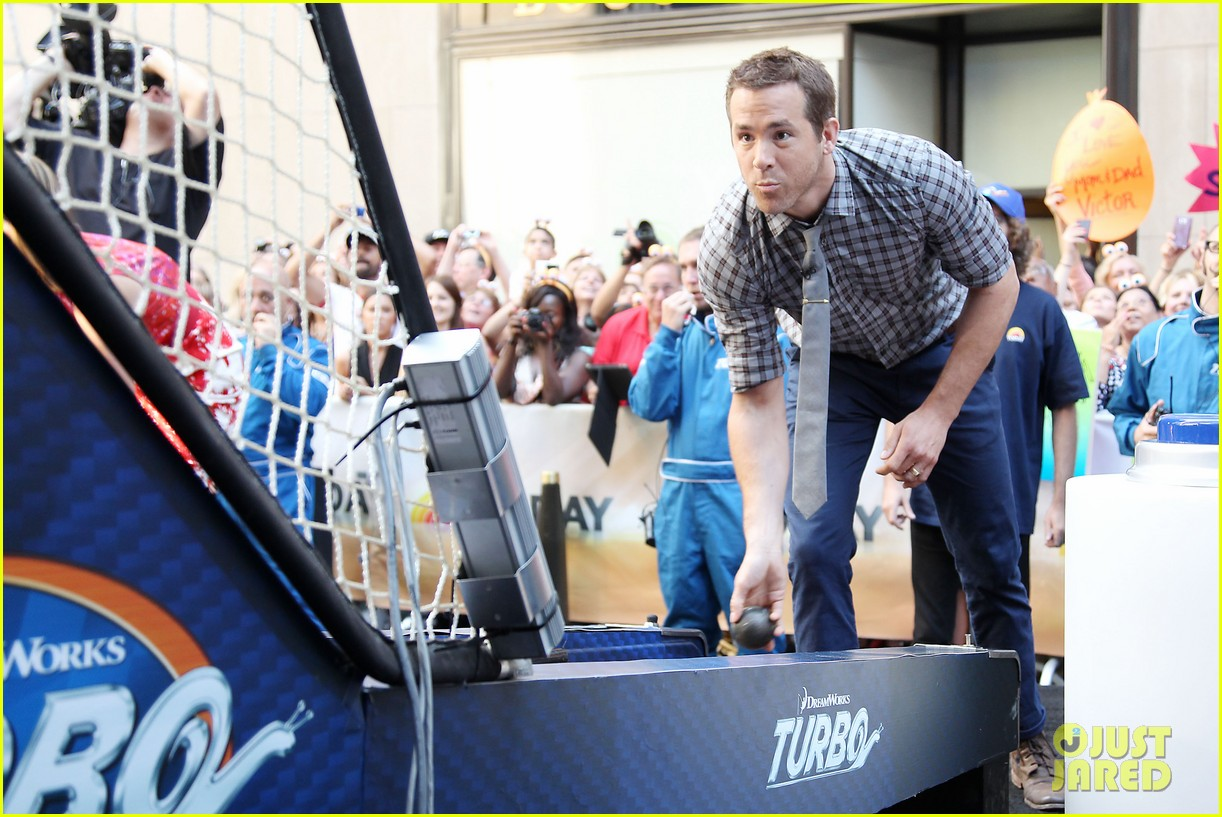 ryan reynolds turbo for today show 24