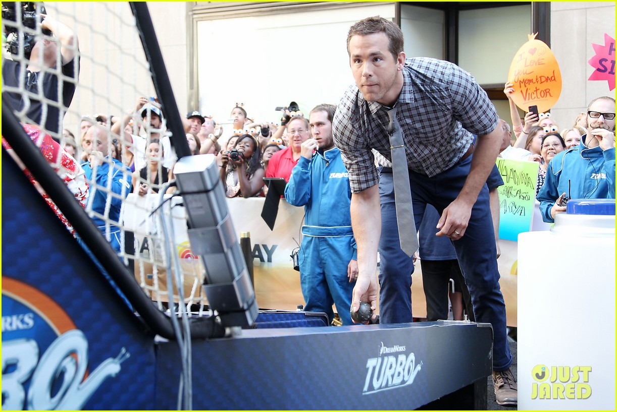 ryan reynolds turbo for today show 27