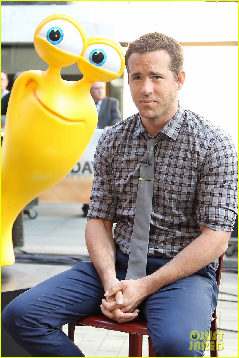 ryan reynolds turbo for today show 32